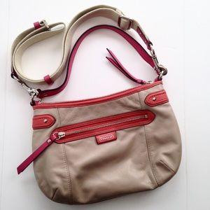 Coach Daisy Spectator Leather shoulder bag